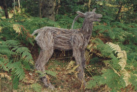 Photograph of sculpture Deer/ Searcher
