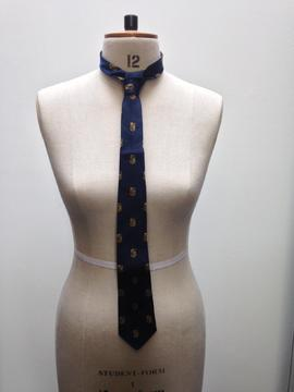 St Paul's College tie belonging to Bill Langmaid