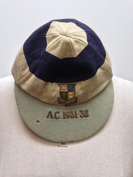 St Paul's College athletics cap 1931 - 1932