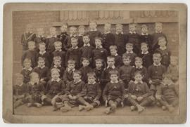 Photograph of schoolboys, probably St Martin's Bradley