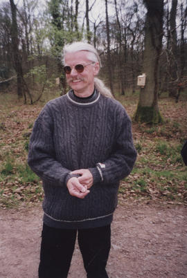 Photograph of artist Ingemar Thalin