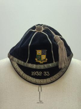 St Paul's College sports cap belonging to H D Buckley