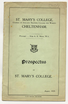 Prospectus for St Mary's College