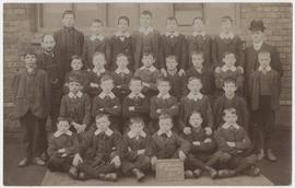 Photograph of St Martin's Bradley schoolboys