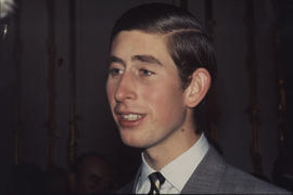 Prince Charles, photographed at an event