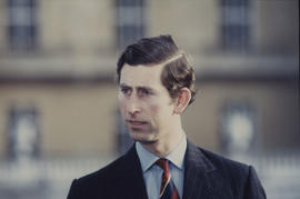 Prince Charles, photographed outdoors