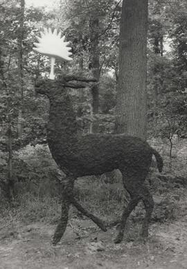 Photograph of single deer, part of As There Is No Hunting Tomorrow