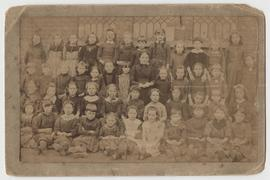 Photograph of schoolchildren, probably St Martin's Bradley